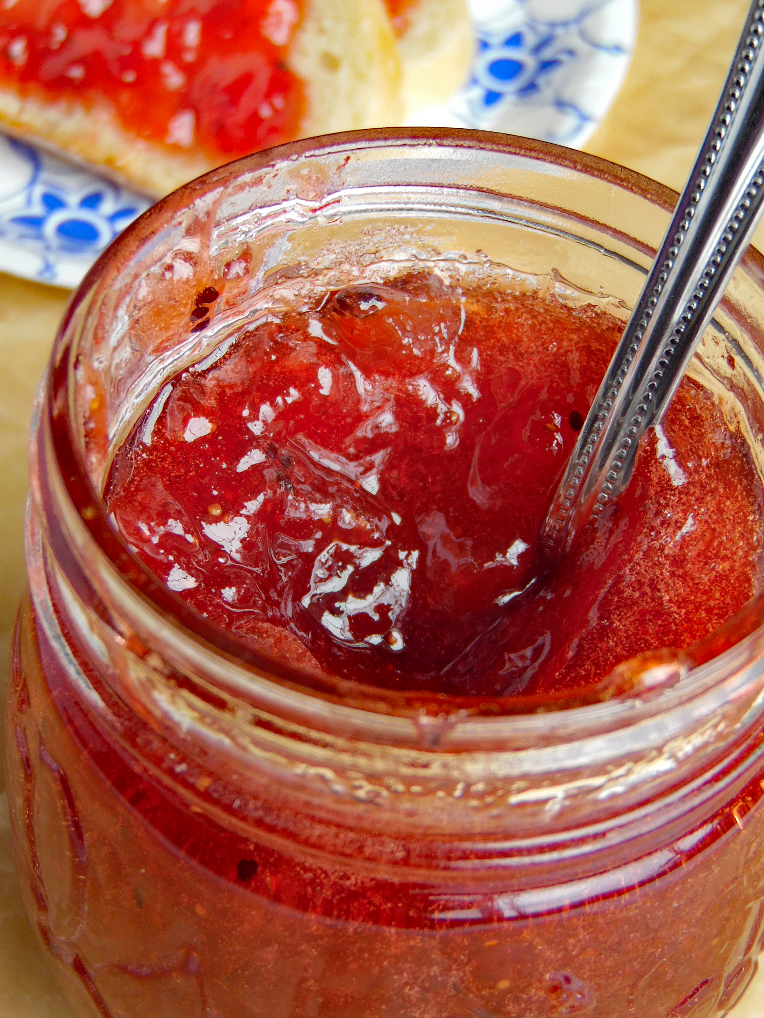 Strawberry Kiwi Jam - Canning Instructions Included