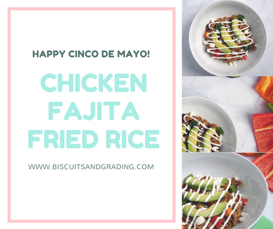 Chicken Fajita Fried Rice – Happy Cinco de Mayo!