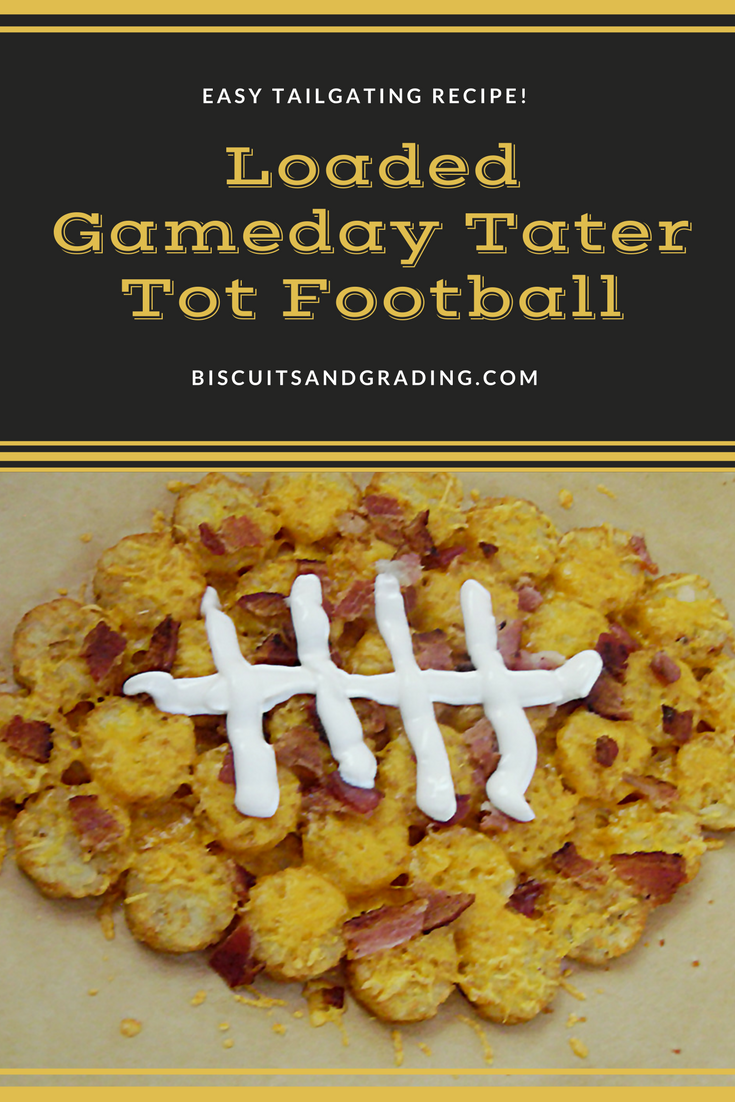 Loaded Gameday Tater Tots and A BIG Announcement!