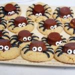 peanut butter spider cookies recipe