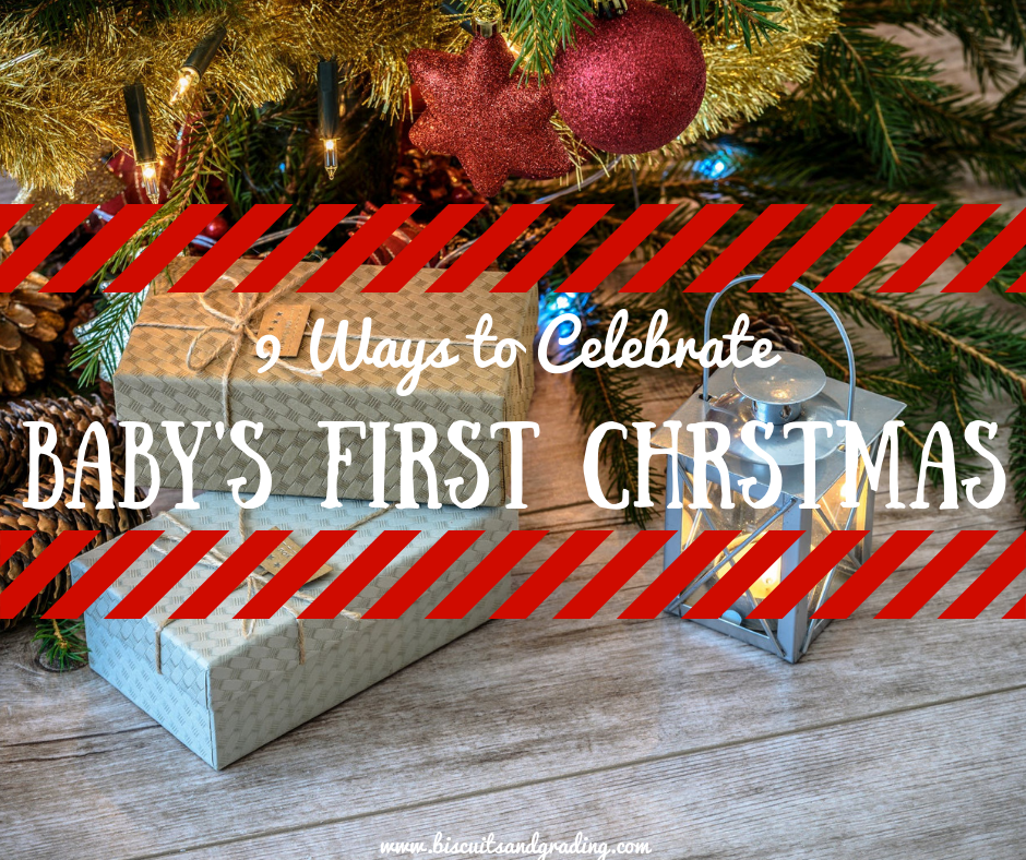 9 Ways to Celebrate Baby's First Christmas Season