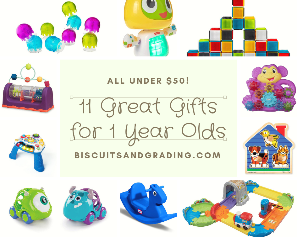 11 Great Christmas Gift Ideas For One Year Olds All Under 50 Biscuits And Grading