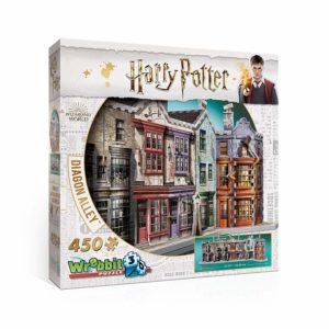 harry potter 3d puzzle diagon alley