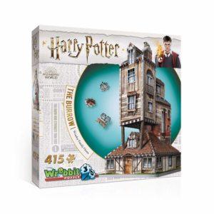 harry potter 3d puzzle burrow