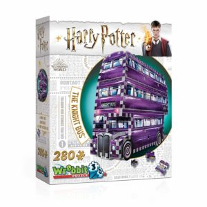harry ptoter 3d puzzle knight bus