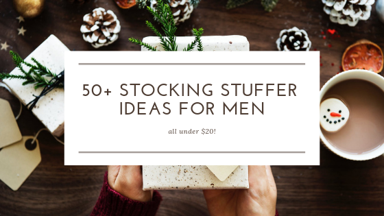 50+ stocking stuffer ideas for men