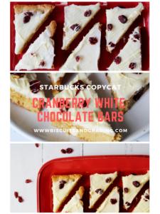 cranberry bliss bars #cranberrybliss #starbuckscopycat #christmas #christmascookies #starbuckscopycat