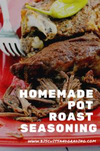 Homemade Pot Roast Seasoning #seasoning #dryrub #potroast #instantpot #lowcooker #recipe #yum