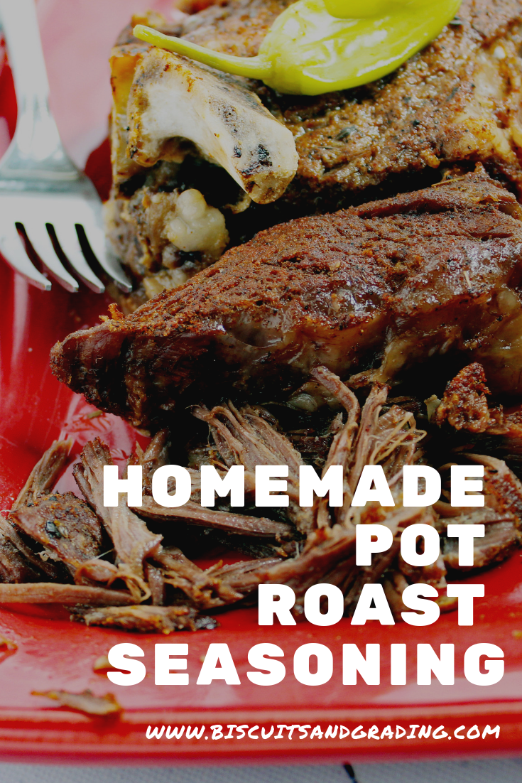 Homemade Pot Roast Seasoning (Beef or Pork)