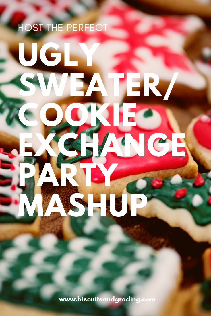 Host an Amazing Ugly Sweater/Cookie Exchange Christmas Party Mashup!