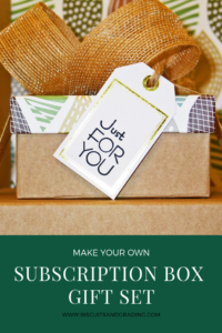 Make Your Own subscription box gift set