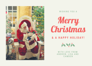 camden christmas card