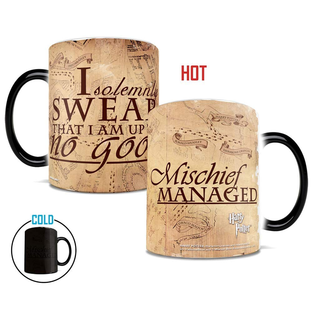 color changing heat mug harry potter