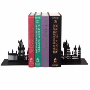 hogwarts bookends