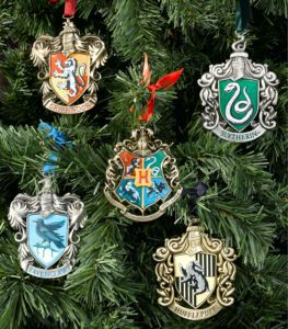 house crest ornaments