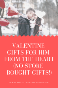 Valentine's Day Gifts For Him From the Heart #homemade #valentinesday #valentine #gifts #giftsforhim