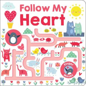 follow my heart finger mazes