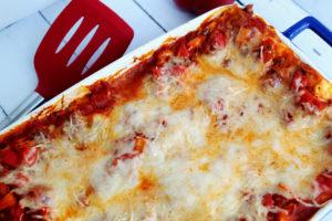 chicken bruschetta lasagna