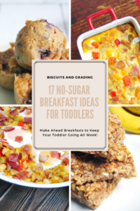 17 NO Sugar Breakfast Ideas for Toddlers #toddlerfood #babyledweaning #blw #momlife #hungrykid #familyfriendly #kidfriendly #quickbreakfast