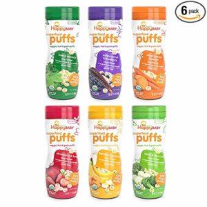 happy baby puffs