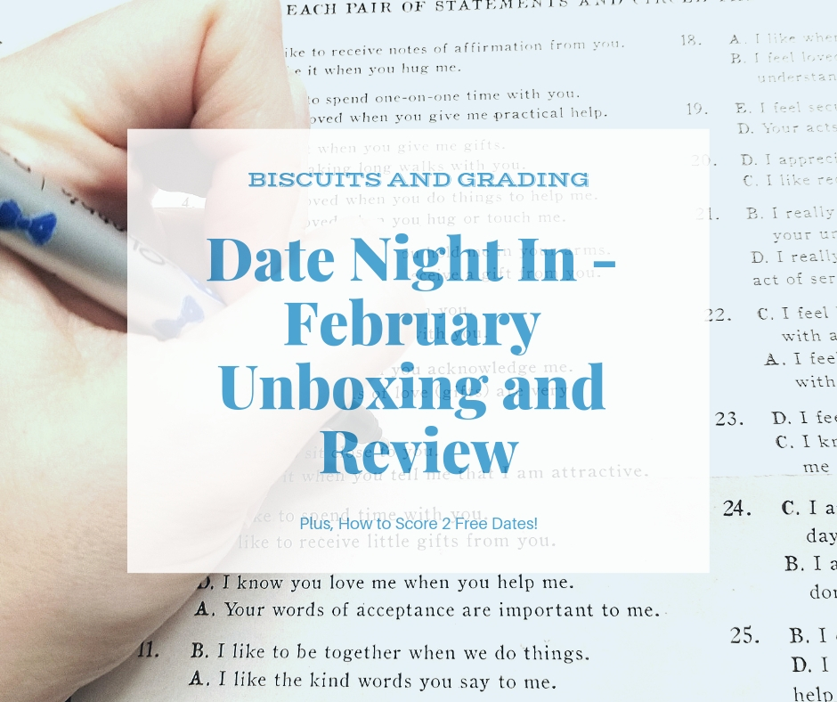 Date Night In Box – February Unboxing and Review (And How to Score 2 Free Dates!)