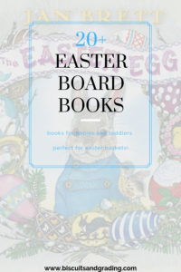 20+ Easter board books for toddlers and babies