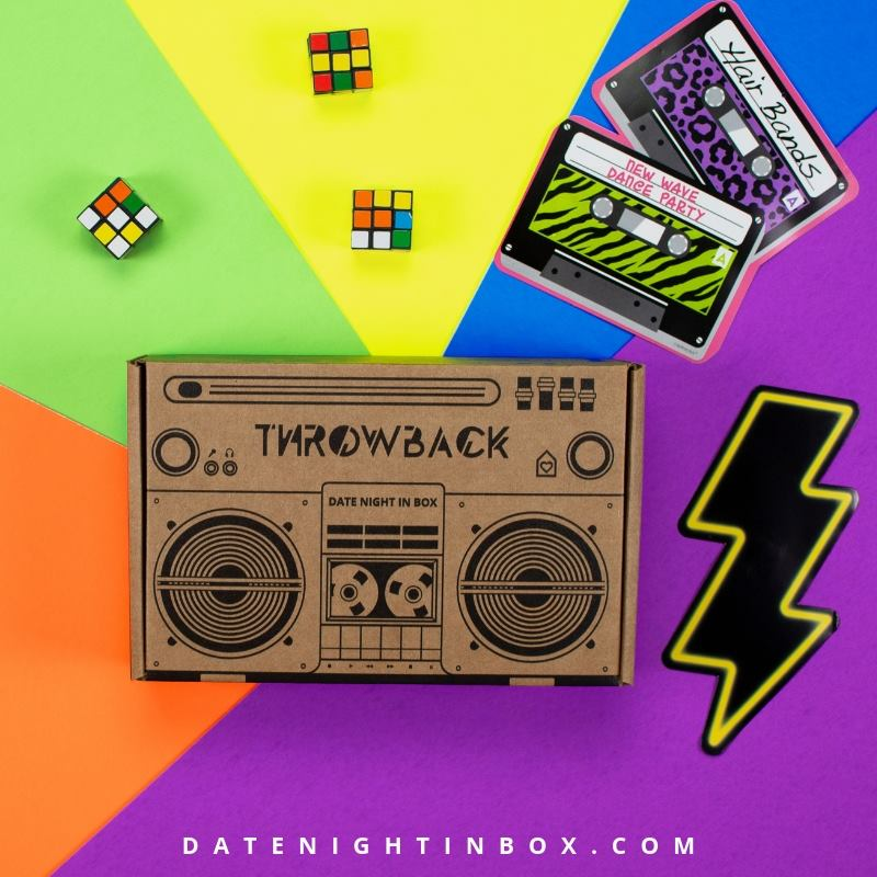 GIVEAWAY - Date Night in Box March Review - 90s Throwback