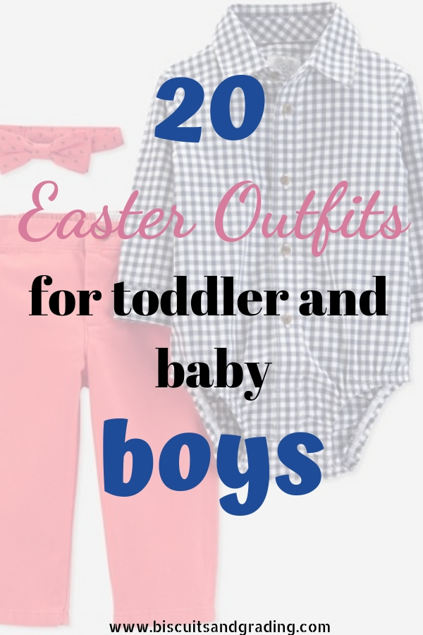 20 Easter Outfits for Toddler and Baby Boys