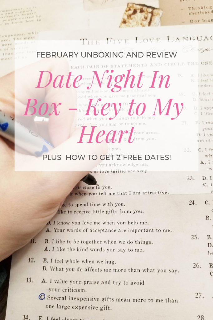 Date NIght In Box February Unboxing and Review #datenightinbox #datenight #couplegoals #relationshipgoals