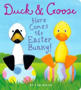 Duck and Goose Easter Bunny