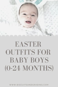 Easter Outfits for Baby Boys 0-24 Months #easter #easterbaby #easterclothes #babyboy #babyboyclothes #boymom