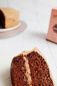 decadent chocolate cake date paste