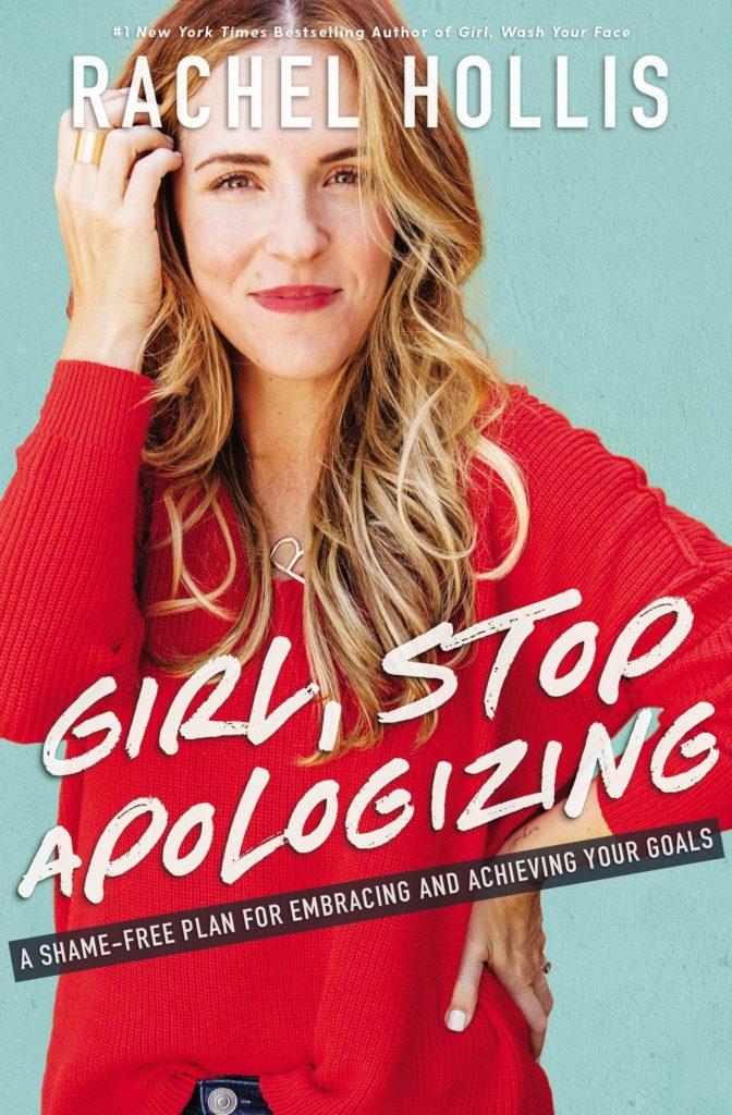 girl stop apologzing