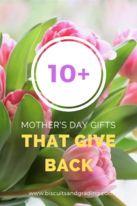 10 Mother's Day Gifts That Give Back #giftsthatgiveback #giveback #mothersday #giftguide #womensgifts