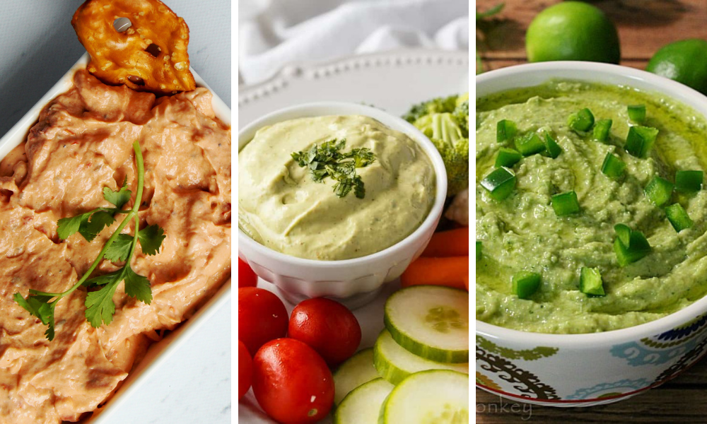 Cold Dip Recipes Roundup