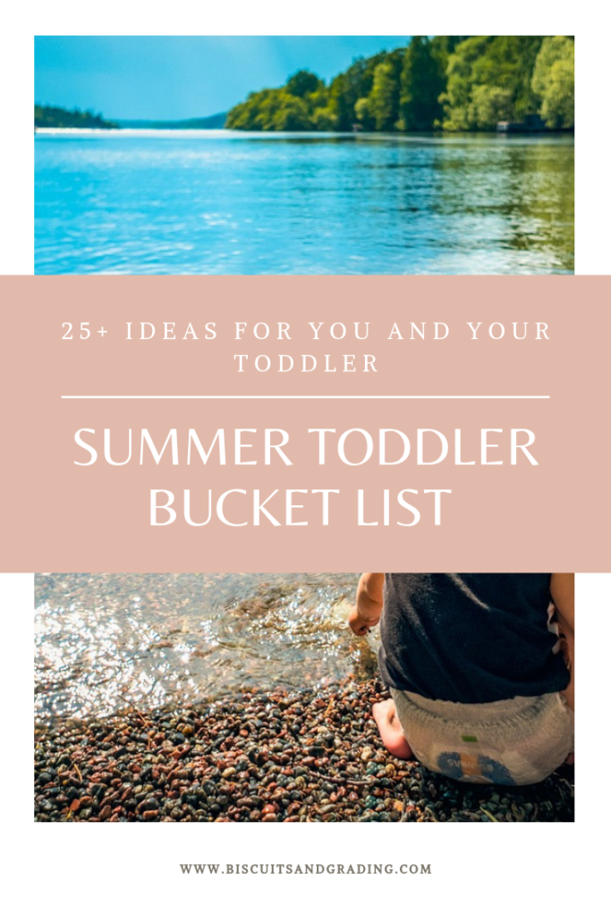 Summer Toddler Bucket List