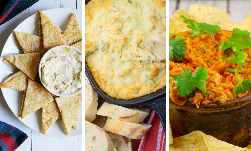 Dip Recipe Roundup - Hot Savory Vegetarian