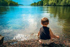 summer toddler bucket list pond