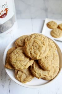 teami chai spiced honey cookies