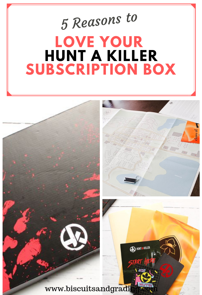 5 Reasons to Love Your Hunt a Killer subscription box