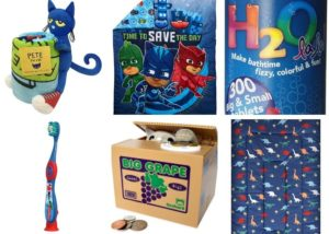 bed and bath Toddler Gifts Non-Toys