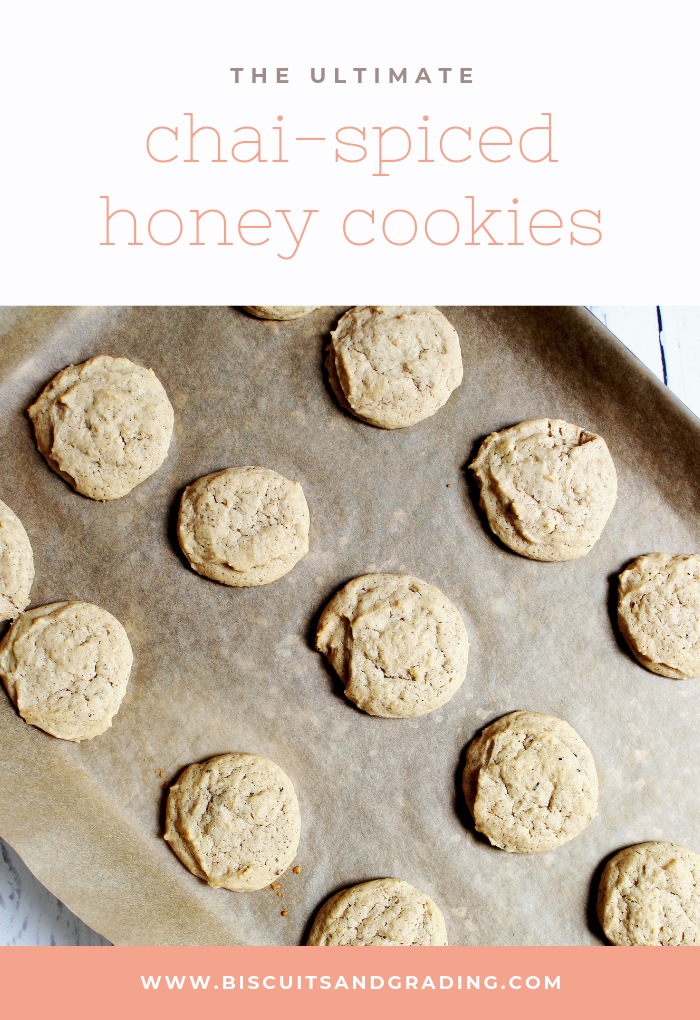 chai-spiced honey cookies