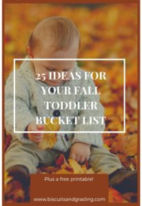 25 Ideas for your Fall toddler bucket list #fallbucketlist #toddler #toddlermom