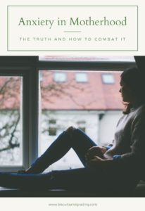 Anxious Mom and Anxiety in Motherhood Pinterest Image #anxiety #mentalhealth #wellness #postpartum