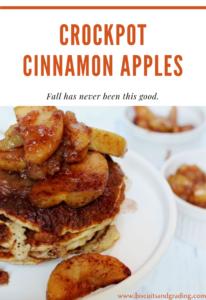 Crockpot Cinnamon Apples