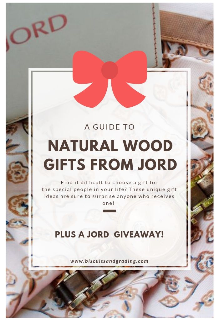 Natural Wood Gifts from JORD for the Special People in Your Life + a Giveaway