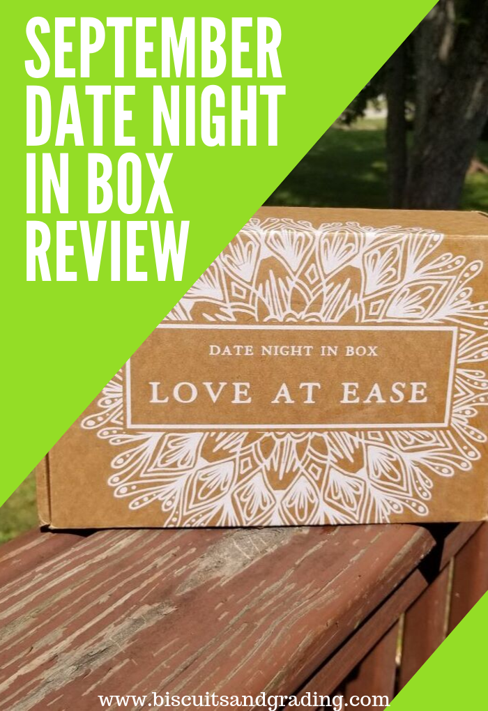 September Date Night In box review