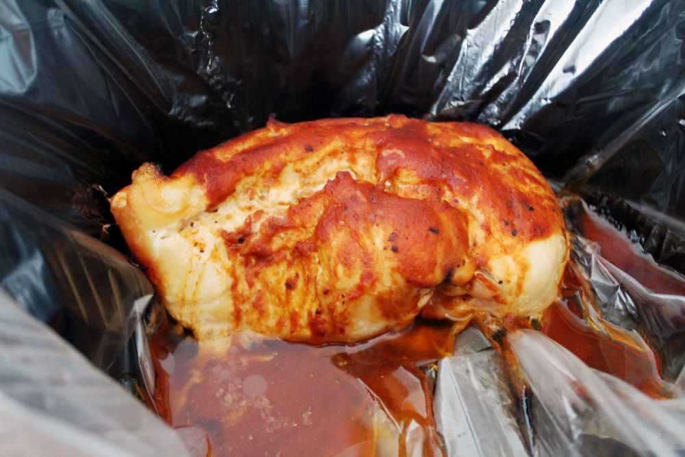 bbq chicken in slow cooker 1