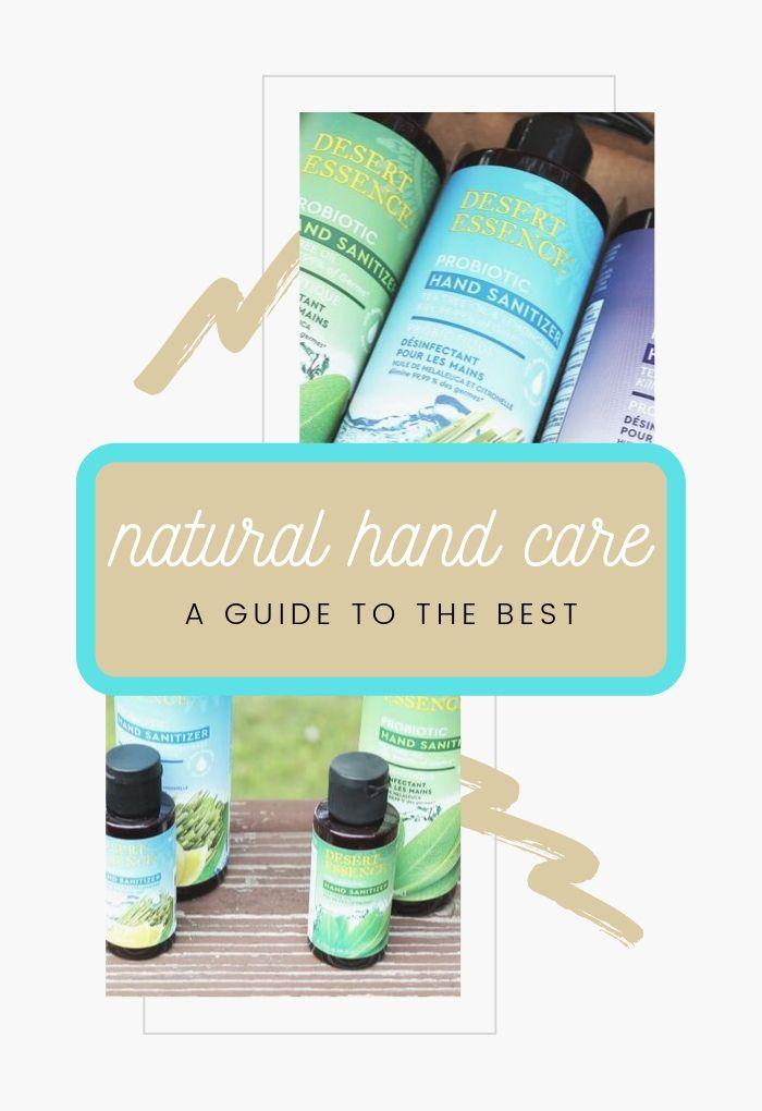 natural hand care and sanitizer pinterest #livenaturally #natural #freefive