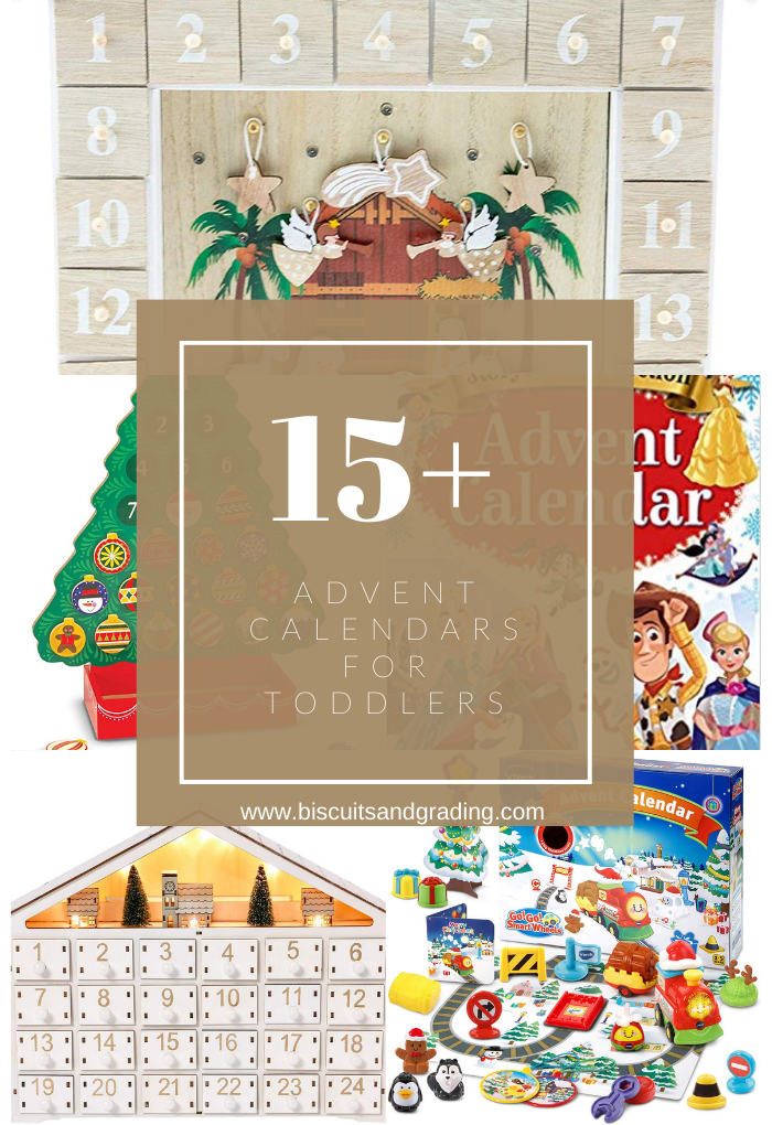 15+ Advent Calendars for Toddlers